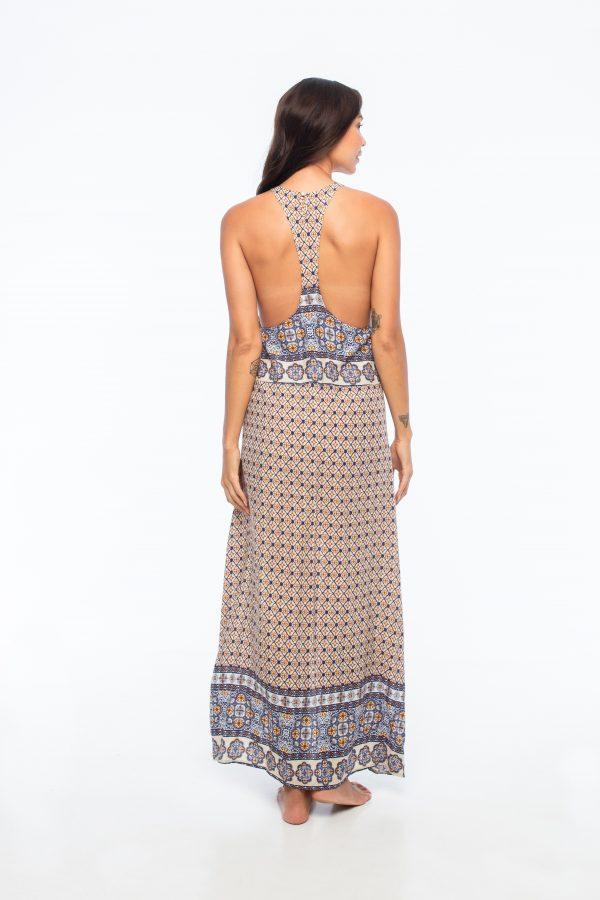D by dashoppe Daszki Glowe Brown Long Dress.