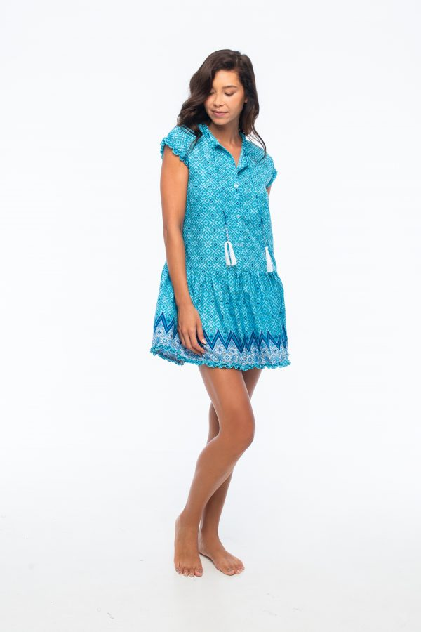 D by dashoppe Sweet Flower Mini Strip Dress.