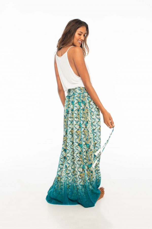 D by dashoppe Mya Long Skirt Sweet Turquoise Dress.