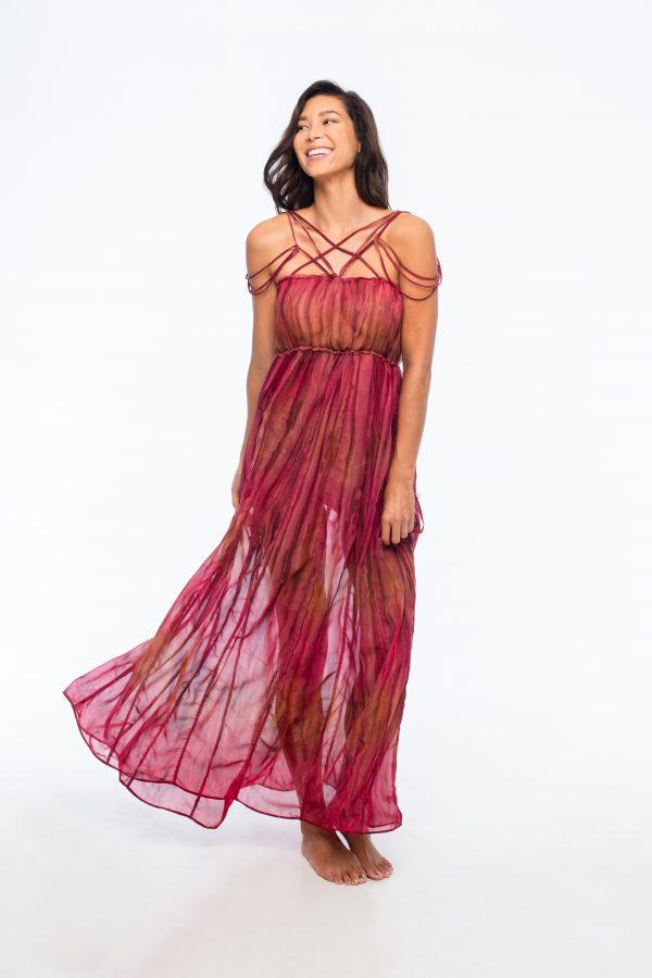D by dashoppe Mya Vertical Long Collection Dress.