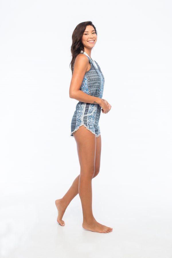 D by dashoppe D'V Lace Cut Jumpsuit.